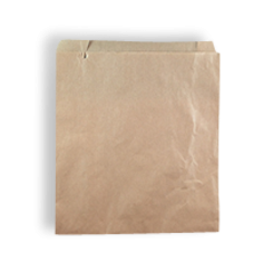 1W/Square (165wx180h) Brown Paper Bag