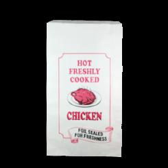Chicken XL (185+50x320) Printed Foil Paper Bag