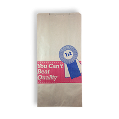 12SO (185w+105x380h) Quality Meat HWS Paper Bag