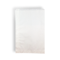 2F/Long (165x240h) White Paper Bag