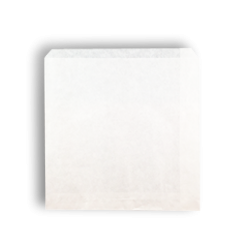 2W/Sqr (203x200h) White Paper Bag
