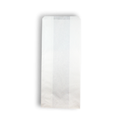 4SO (127+75x280h) White Paper Bag