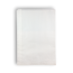 Long Sponge (290x340h) White Paper Bag