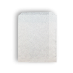 1/2F 8oz (115x145h) White Paper Bag