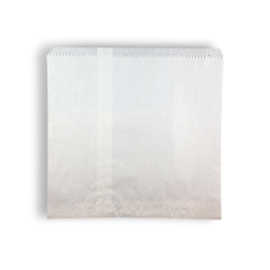 Square Sponge/6 Sqr (290x280h) White Paper Bag