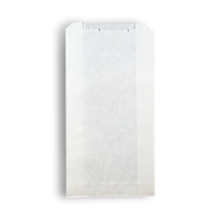 1SO (100+40x180h) White Paper Bag